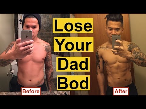 How To Lose Weight In 4 Easy Steps (From Dad Bod To Six Pack)