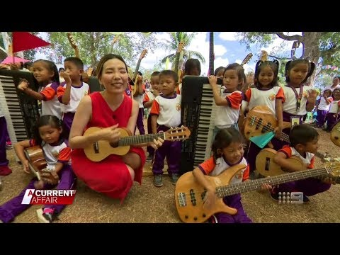 Dami Im - Her Charity Mission in Masbate, Philippines