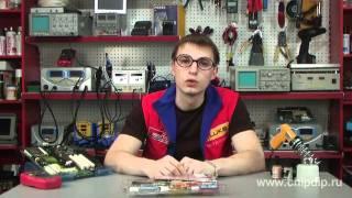 видео Пайка медных проводов электрическим паяльником оловянно-свинцовым припоем и канифолью