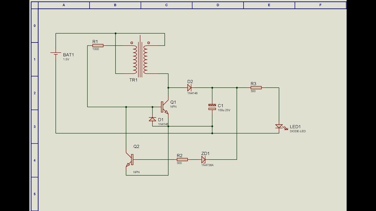 Схема светодиодов 1.5в