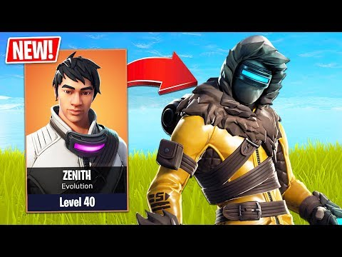 SEASON 7 *NEW* YETI HUNTER SKIN EVOLUTION!! (Fortnite Live Gameplay)