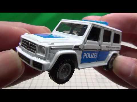 トミカイベントモデル No.4 メルセデスベンツ Gクラス 海外パトロールカー仕様