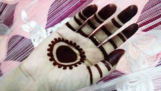 Traditional ancient gol tipki mehendi design / Most satisfying henna application video gol tikki