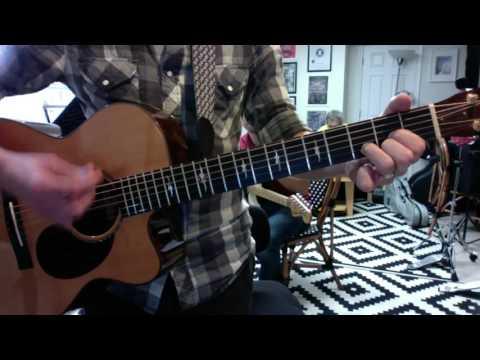 Burn One Down in G simple guitar