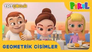 PIRIL | GEOMETRİK CİSİMLER | TRT ÇOCUK