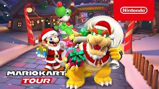 Mario Kart Tour - Winter Tour Trailer