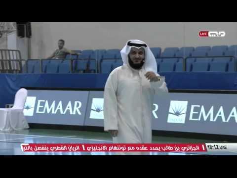 Sheikh Mishary Alafasy Playing football 2015 مشاري العفاسي كرة القدم اللعب