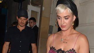 Katy Perry Rocks Lingerie Look for Date Night With Orlando Bloom