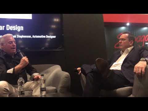 Frank Stephenson Talking Design, London Classic Car Show 2018