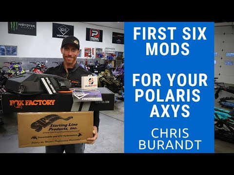 6 Aftermarket Snowmobile Mods For Your Polaris Axys | Chris Burandt