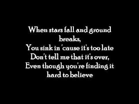 David Cook - Hard to Believe (lyrics)
