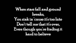 David Cook - Hard to Believe (lyrics)
