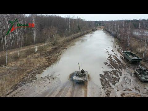 Военное обозрение (16.04.2020) Преодоление водной преграды на танке