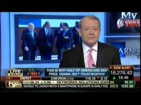 Pres Obama's Credibility   Benghazi Attack, IRS Targeting & Jobs   Stuart Varney My Take