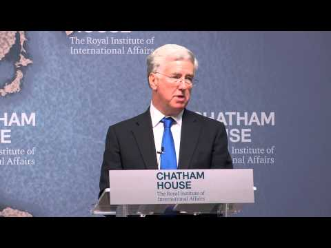 Rt Hon Michael Fallon MP, Secretary of State for Defence, UK