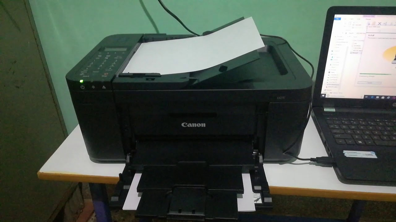 Canon e4270 inkjet All in one printer with fax adf and duplex