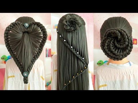 hairstyle ka design - hairstyle juda design - balon ke design - bridal hairstyle - design Bal
