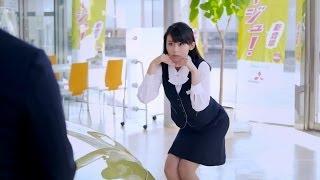 2013年 MITSUBISHI MIRAGE「展開篇」 本仮屋ユイカ Yuika Motokariya ja...