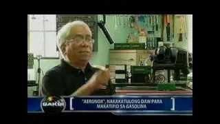 Aeronox : Anti-Pollution Pinoy Invention Featured in Saksi