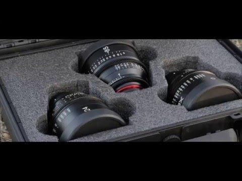 Test XEEN Cine Lens 24/50/85mm T1.5  [4K]