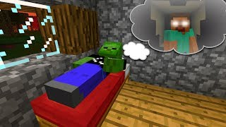 DREAMING in Minecraft Pocket Edition (Wooden House Nightmare)