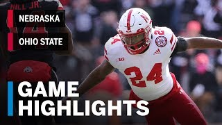 Highlights: Nebraska Cornhuskers vs. Ohio State Buckeyes Big Ten Football