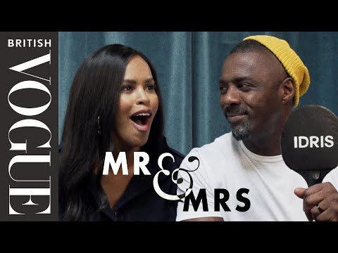 Sabrina & Idris Elba Play Mr & Mrs | British Vogue