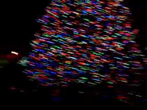 Merry Hempster's Trippy Christmas Lights - YouTube