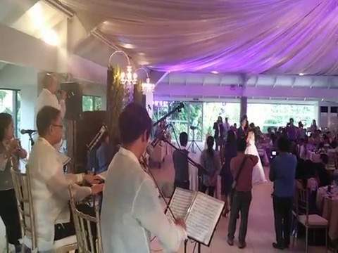 WEDDING MUSIC BAND MANILA PHILIPPINES - THIKING OUT LOUD - Wedding Event Supplier MUSICIANS SINGERS