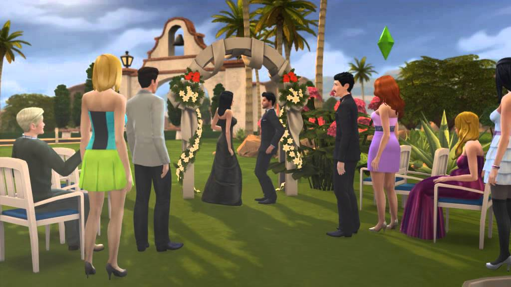The Sims  Wedding Cake