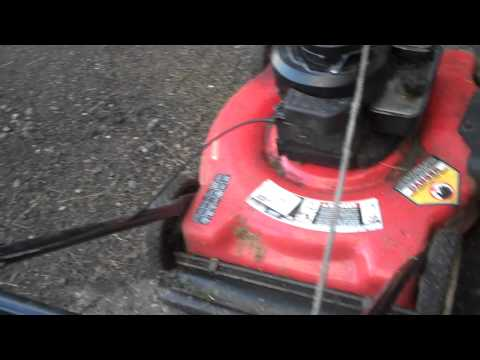 Yard Machines 3.5hp push mower