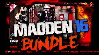 DEZ HUNT IS BACK ON! HUGE PACK OPENING! MF LEGENDS BUNDLE | MADDEN 16 ULTIMATE TEAM