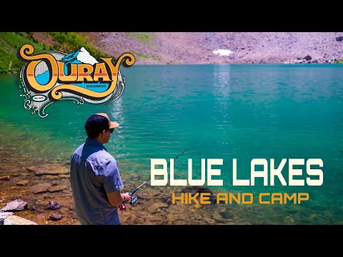 Blue Lakes In Ouray Colorado -  A Backpacking Trip