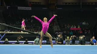 Bella Salcedo - Floor Exercise - 2018 Nastia Liukin Cup
