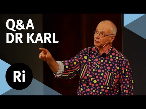 Q&A - Great Moments in Science - with Dr Karl