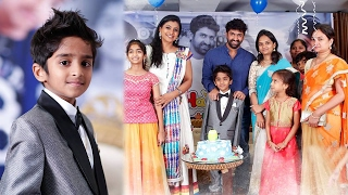 Sekhar Master Son Vinni Birthday Celebrations photos