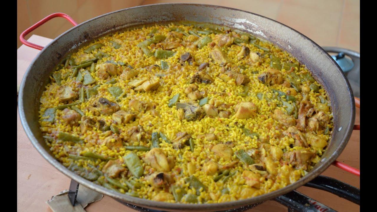 Валенсийская паэлья | Паэлья валенсиана (Испанская кухня)
