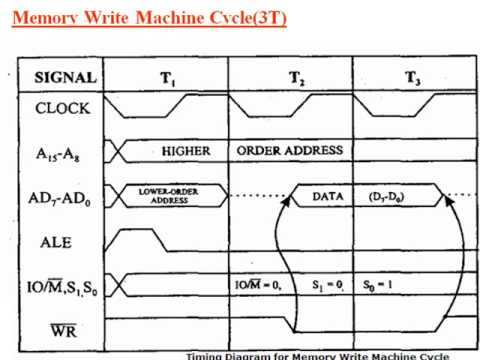 8085 Timing diagrams  YouTube