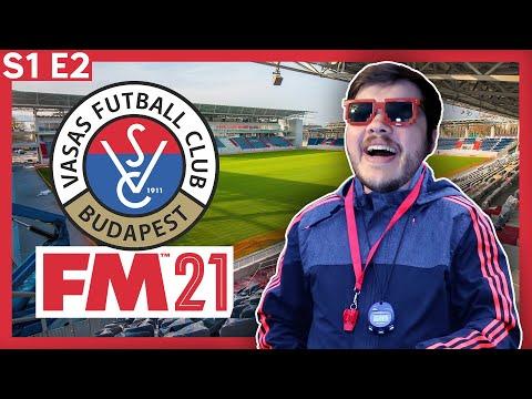 Football Manager 2021 | Vasas | Season 1 Episode 2 |