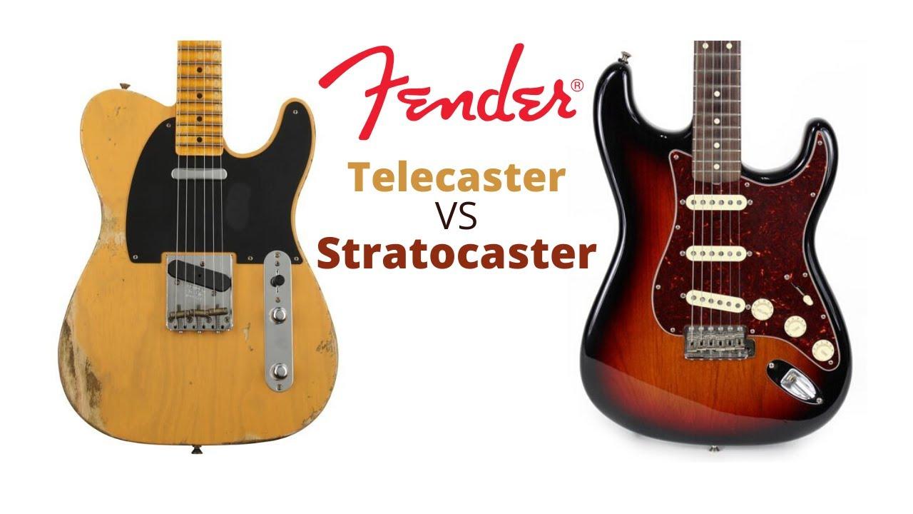 Fender Telecaster VS Stratocaster 🎸🎸