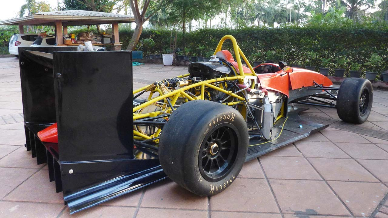 How To Make A Rear Diffuser For Race Car
