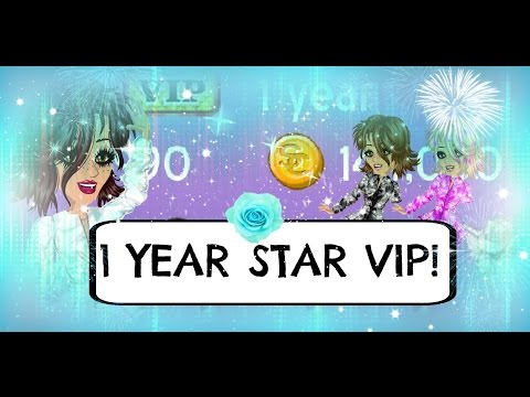 MSP 1 year star VIP! ~ Level 21!! *read desc* - YouTube