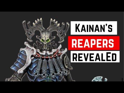Kainan's Reapers Revealed - Warhammer Underworlds Direchasm - Age of Sigmar |