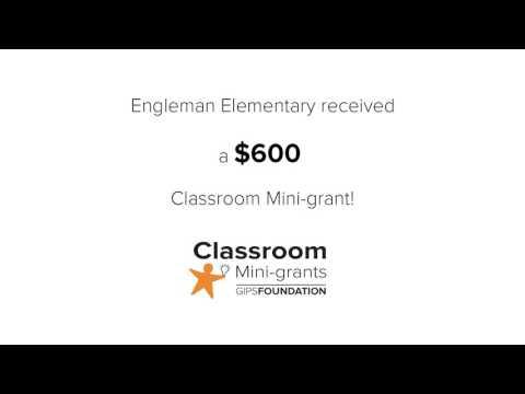 Engleman Elementary School Classroom Mini-grant