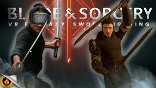 Freestyle VR Sword Gameplay - UNCUT SKILLFUL ENDLESS BLADE AND SORCERY