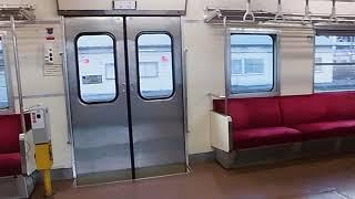 阿武隈急行8100系(両開き)半自動ドア開閉