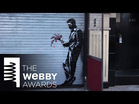 Banksy's Artist in Residence Video for 18th Annual Webby Awards