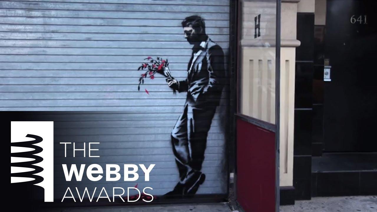 "Banksy's ""Artist in Residence"" Video for 18th Annual Webby Awards"