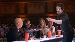 America's Got Talent 2017 Colin Cloud The Human Lie Detector Amazes Full Audition S12E02