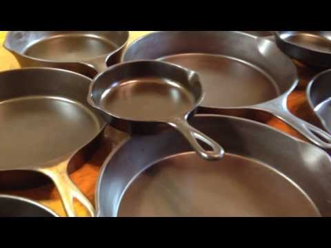 dating cast iron pans
